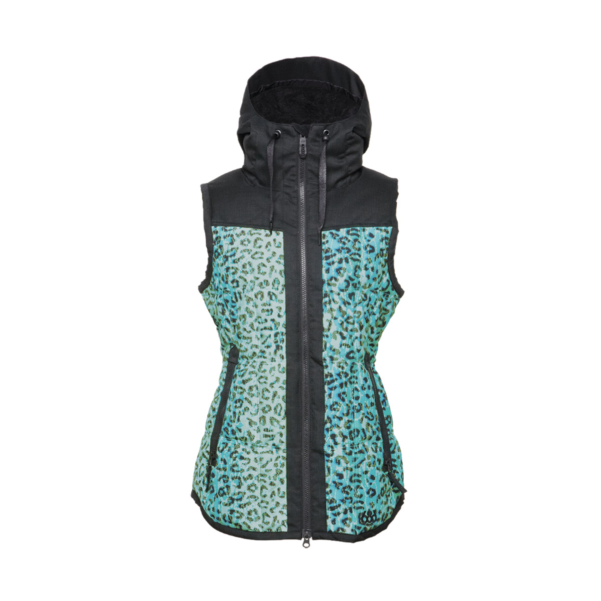 Жилетки 686 Authentic Hillside Vest Emerald Leopard 2015