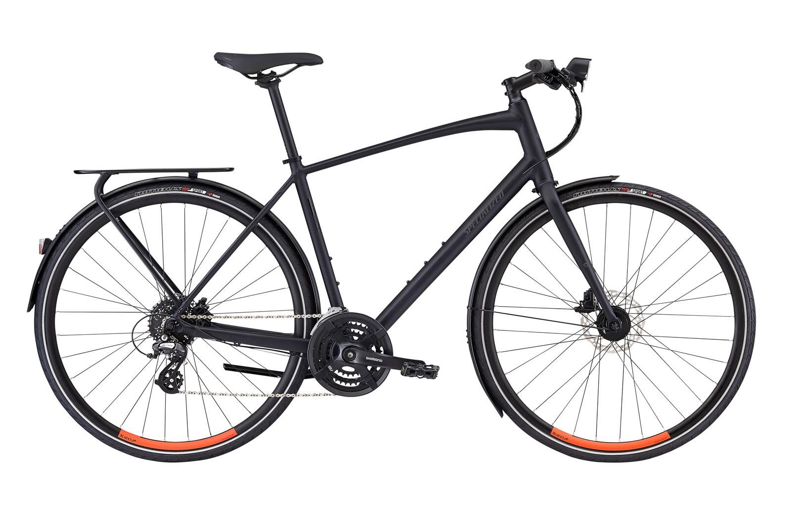 Велосипед Specialized Sirrus EQ Satin Cast Black Rocket Red