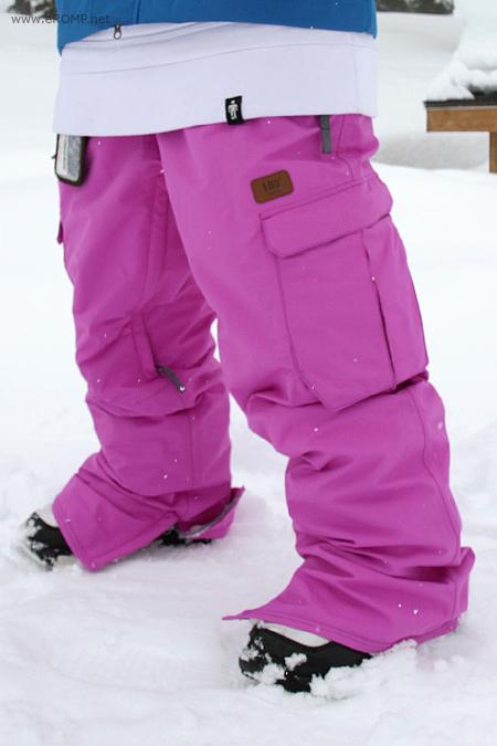 Штаны сноубордические ROMP 180˚ Switch Violet