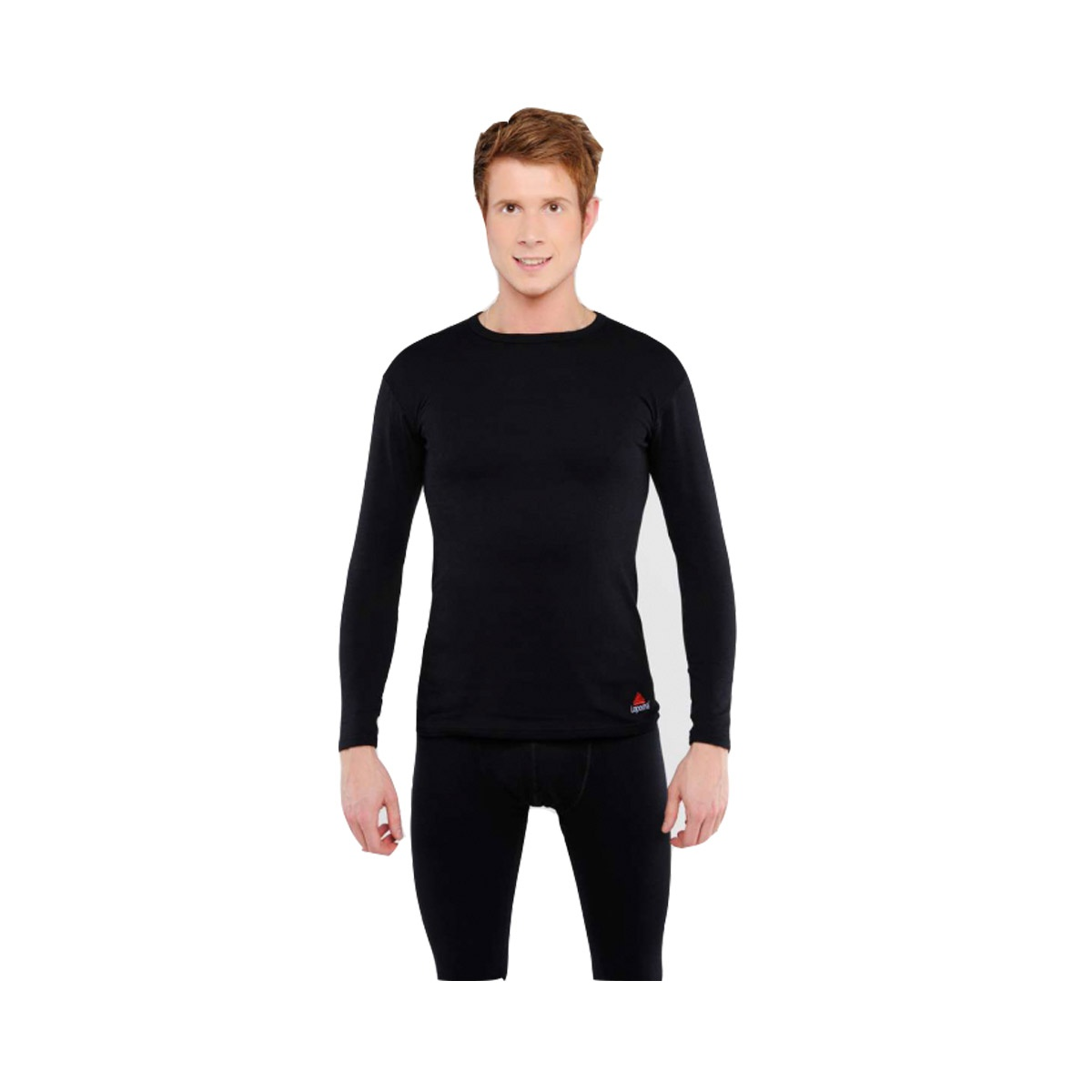 Термобелье LOPOMA Every day Cotton protect m Black