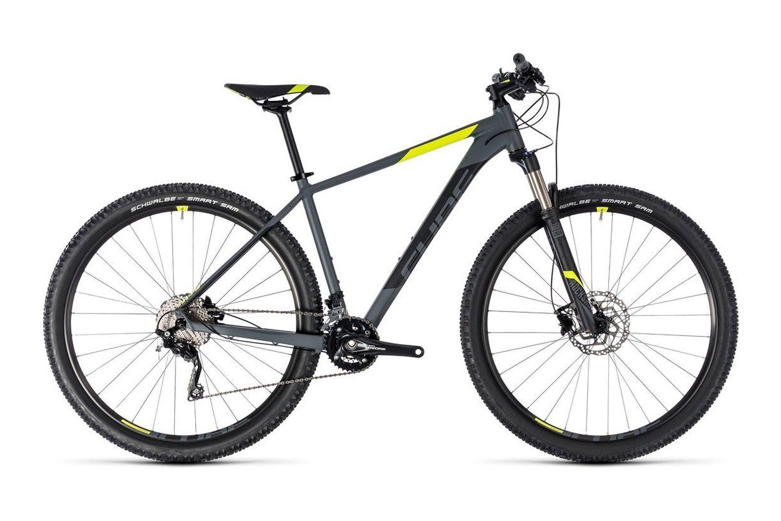 Велосипед CUBE Attention SL 27.5 Grey/Flashyellow