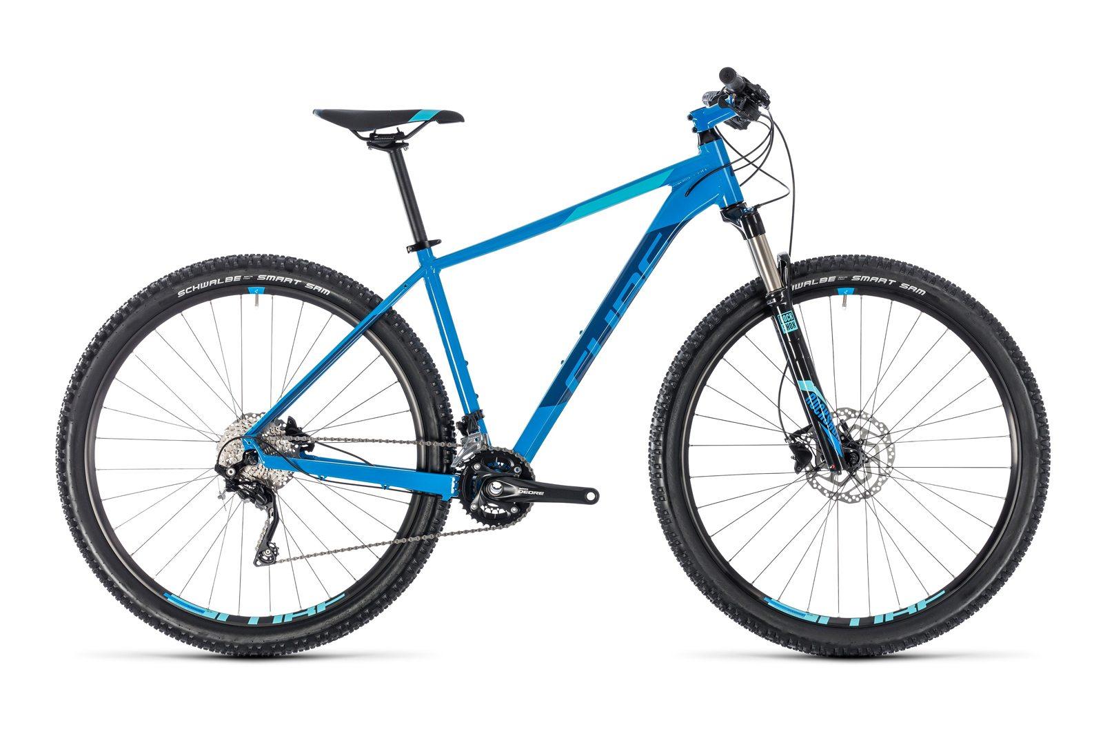 Велосипед CUBE Attention SL 27.5 Aqua Blue