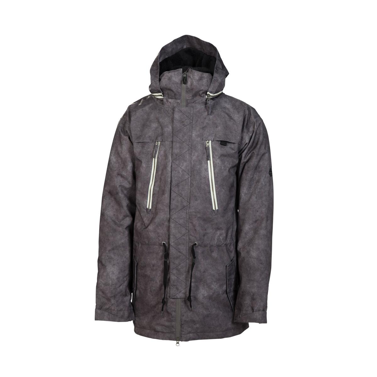 Куртки сноубордические 686 Reserved M-68 Gunmetal