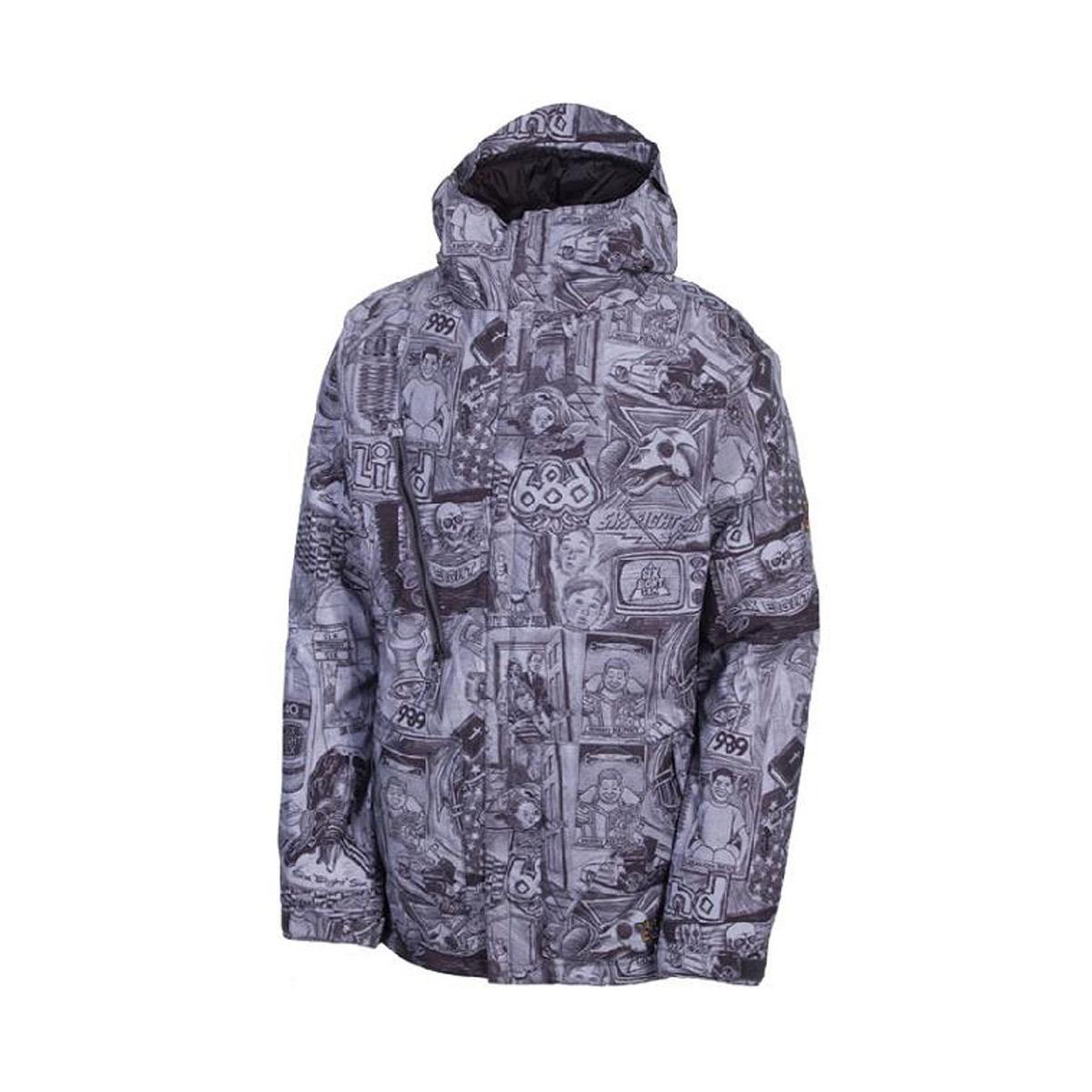 Куртки сноубордические 686 Blind Grey 2017