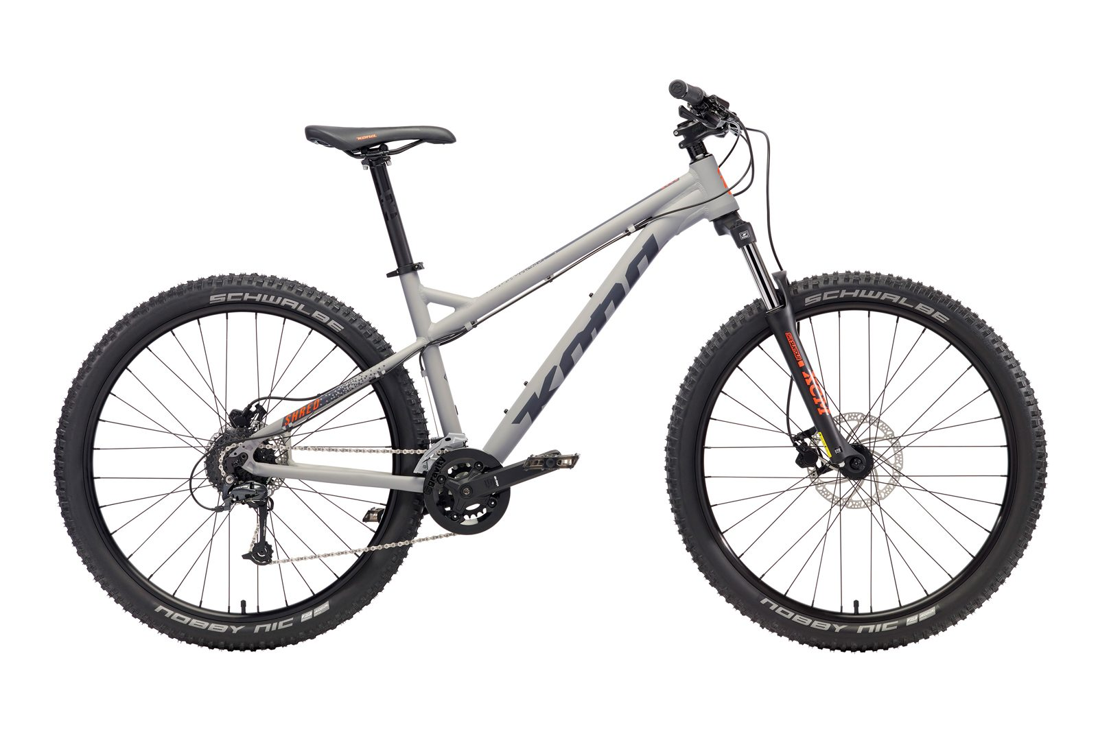 Велосипед KONA Shred Matt Grey
