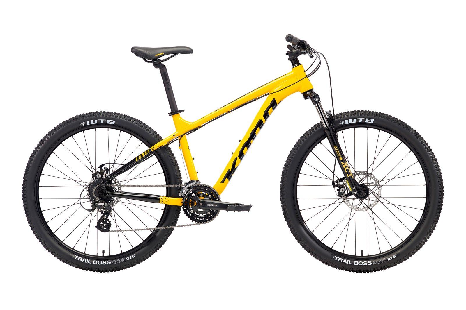 Велосипед KONA Lanai Yellow/Black