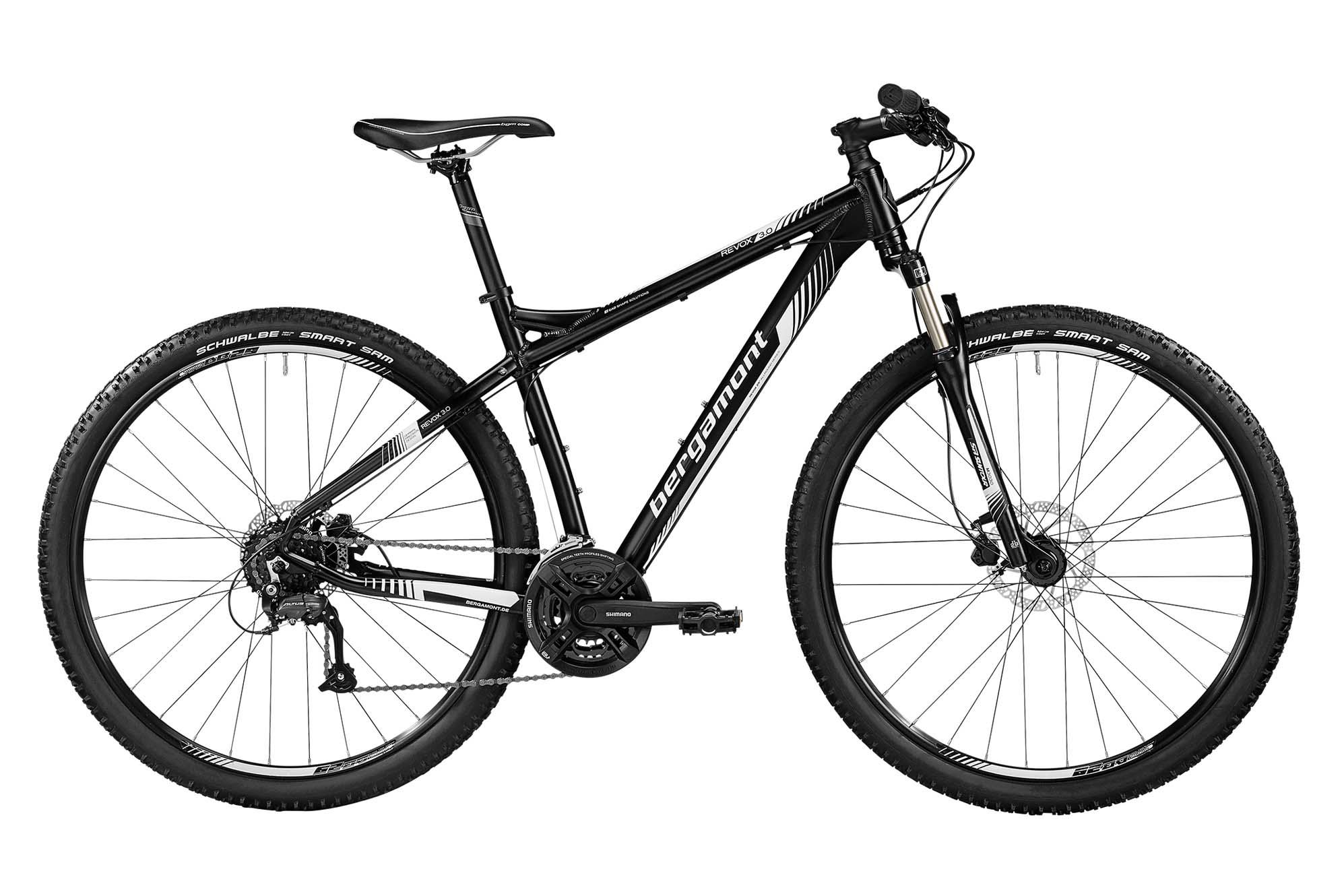 Велосипед BERGAMONT Revox 3.0 Black/White