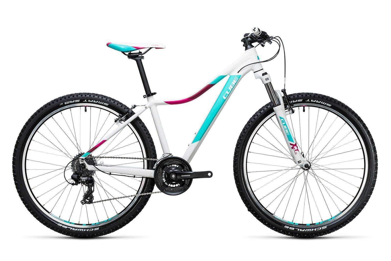 Велосипед CUBE Access WLS 27.5 White/Mint