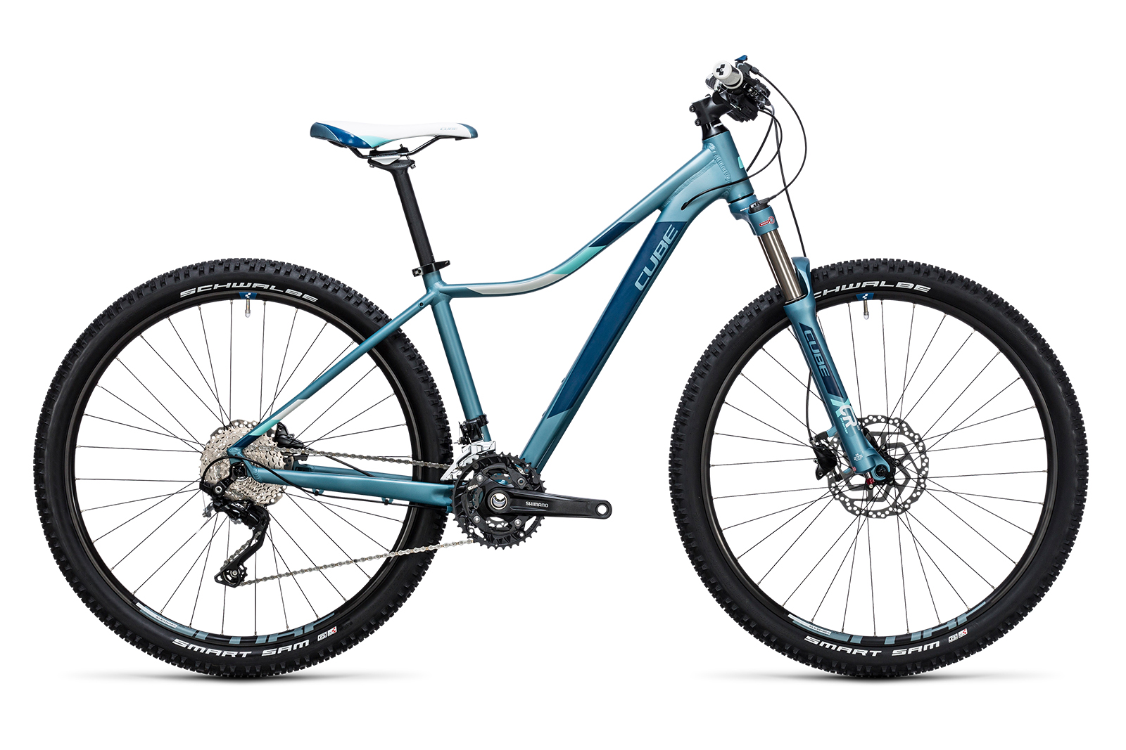 Велосипед CUBE Access WLS Race Lindgreen/Blue
