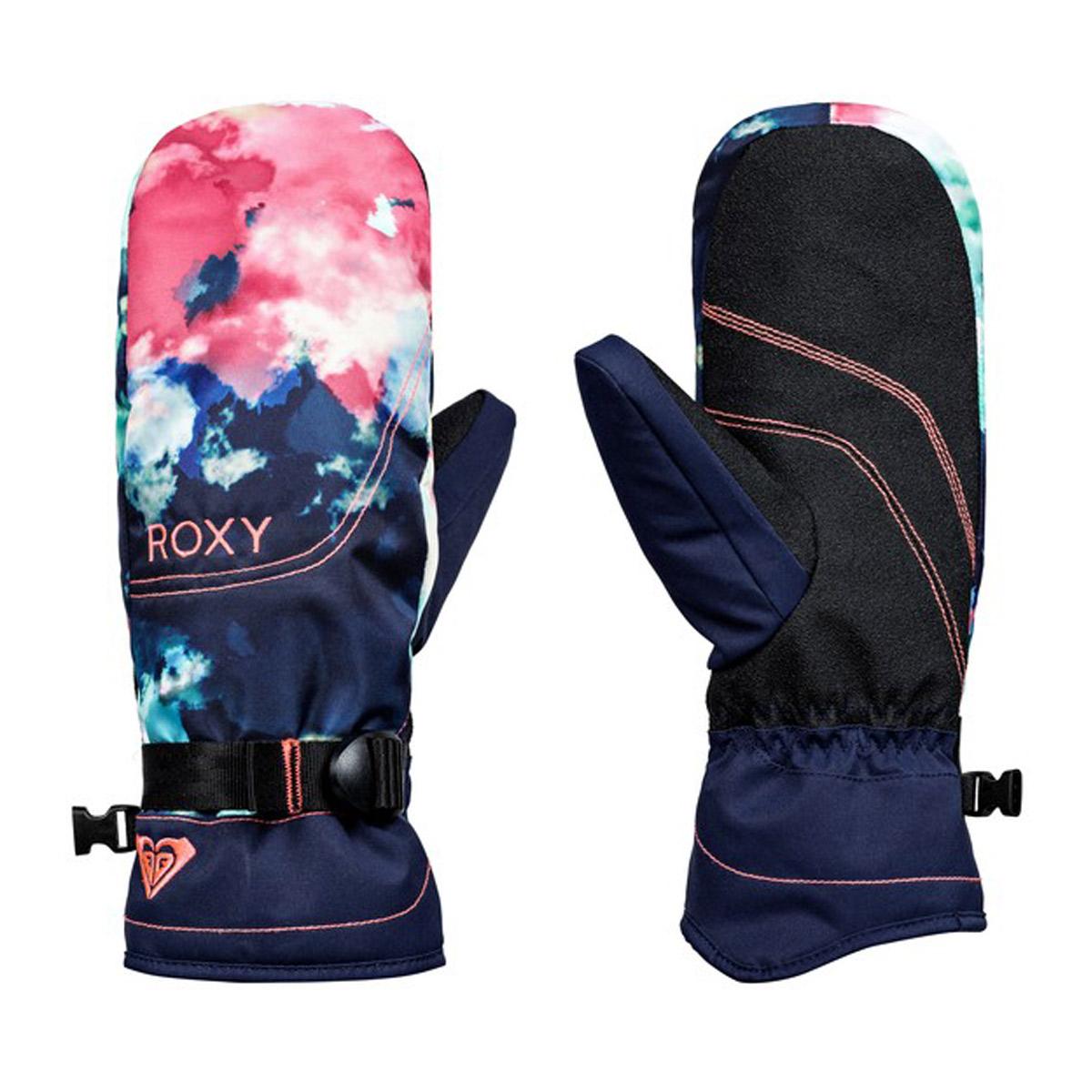 Перчатки и варежки ROXY Jetty Se Mitt Neon Grapefruit 2017/2018