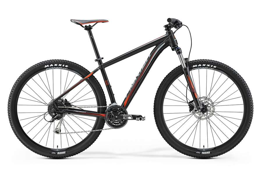 Велосипед MERIDA Merida Big.Nine 100 Black/Signal Red/Grey