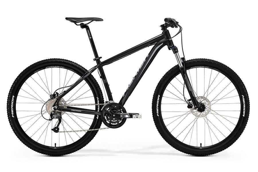 Велосипед MERIDA Big.Nine 40-D Black/Grey