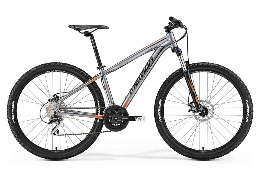 Велосипед MERIDA Big.Seven 20-MD Anthracite/Orange/Black