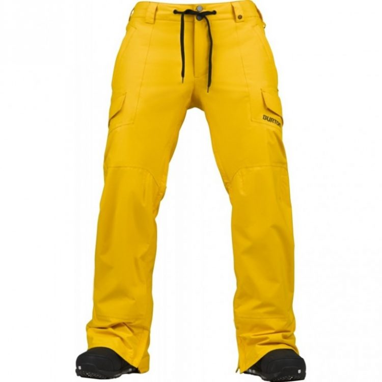 Штаны сноубордические BURTON Tracker Yellow