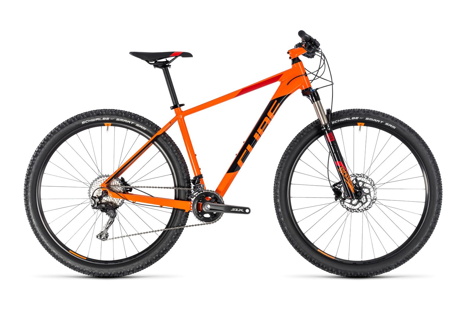 Велосипед CUBE Acid 27.5 Orange/Black