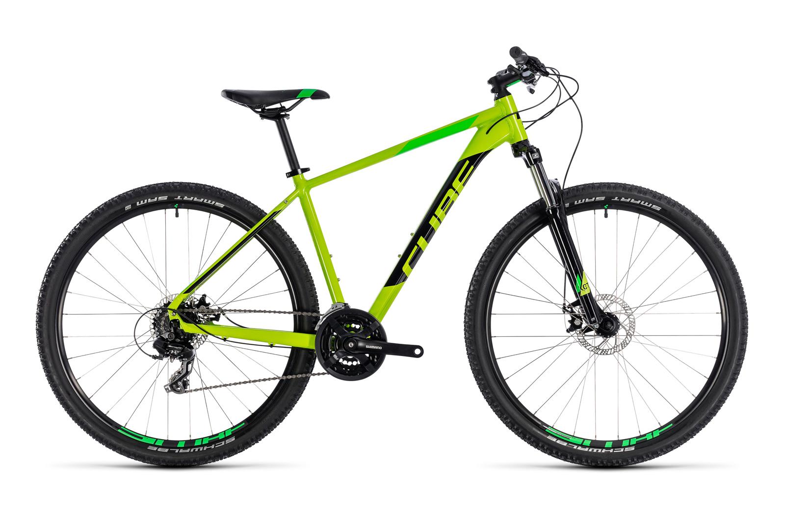 Велосипед CUBE Aim Kiwi/Black