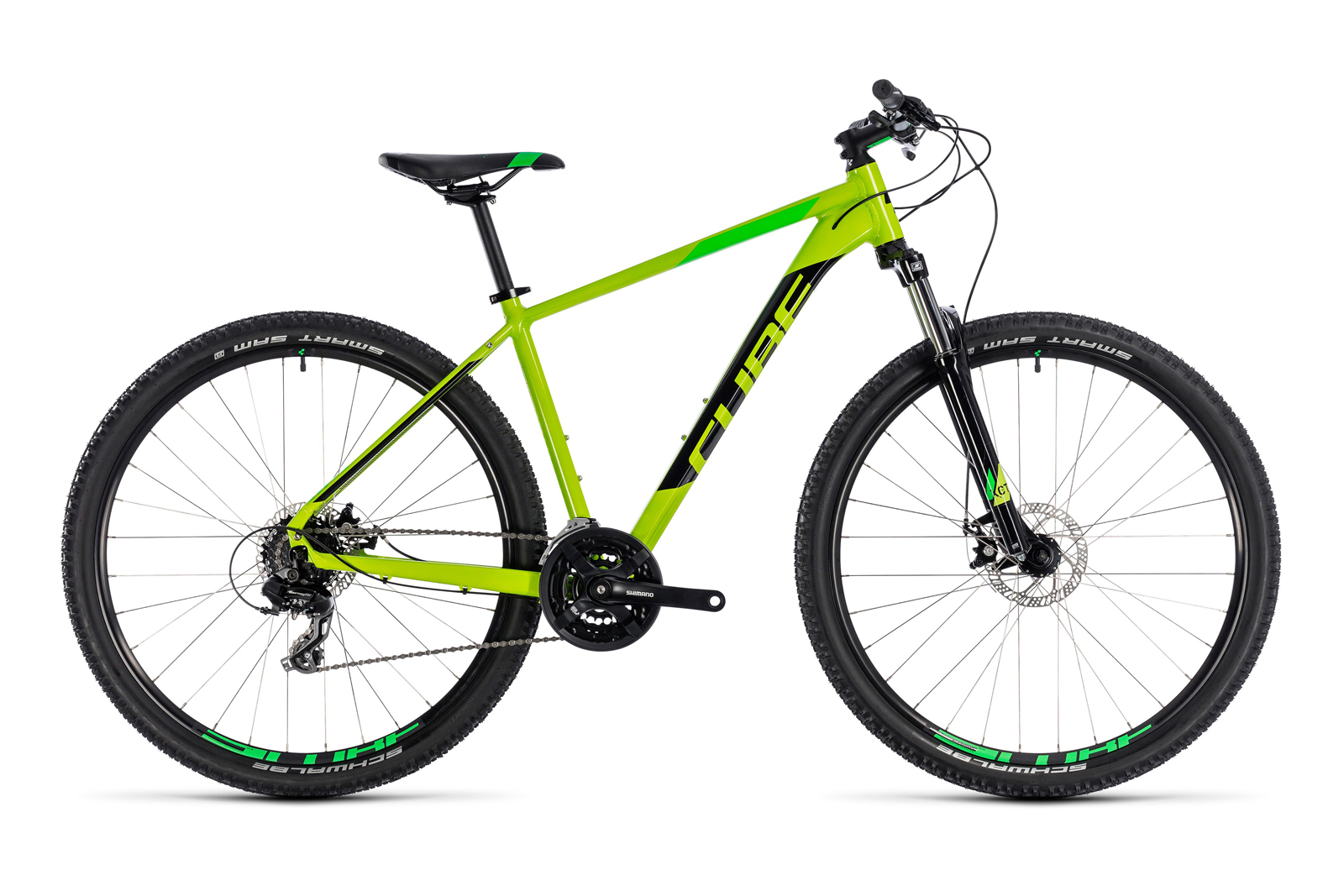 Велосипед CUBE Aim 27.5 Kiwi/Black