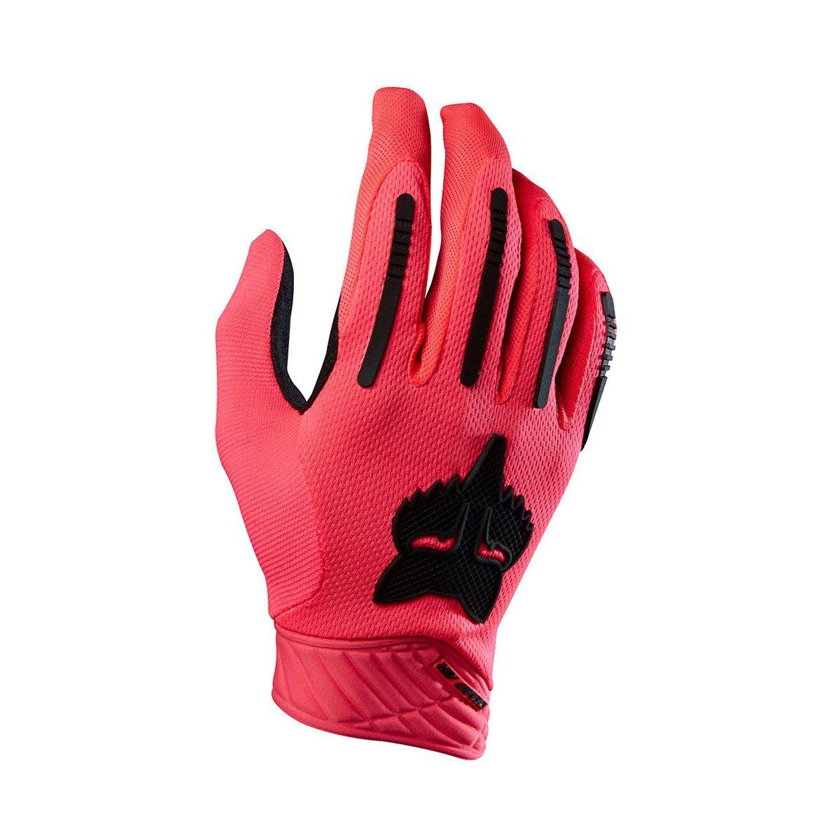 Велоперчатки FOX Demo Air Neon Red