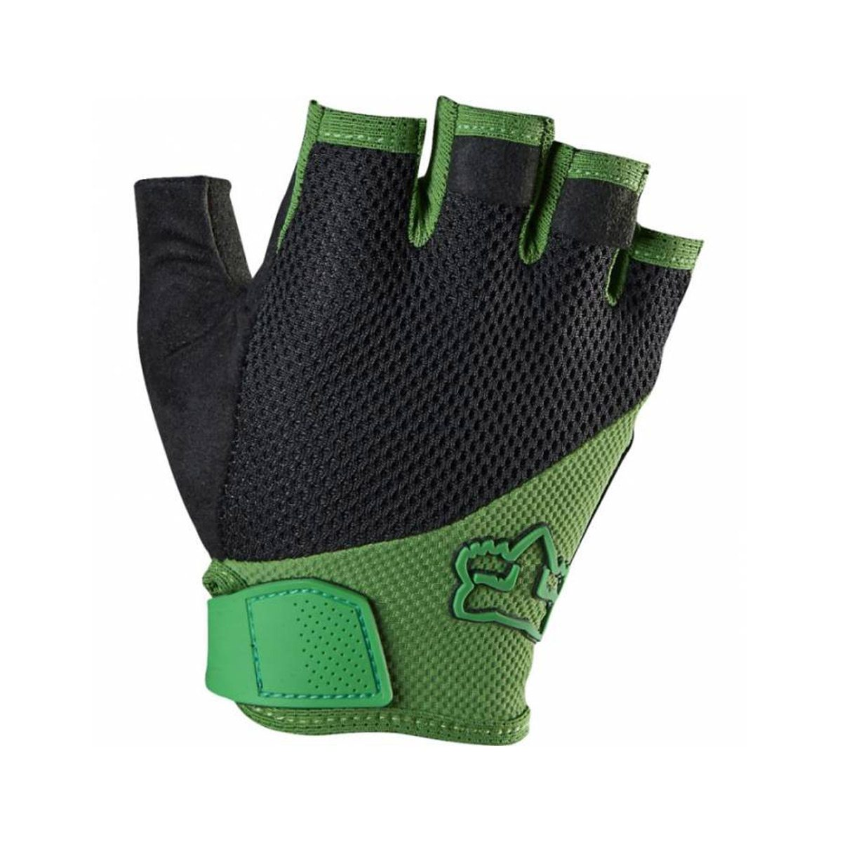 Велоперчатки FOX Reflex Gel Short Green