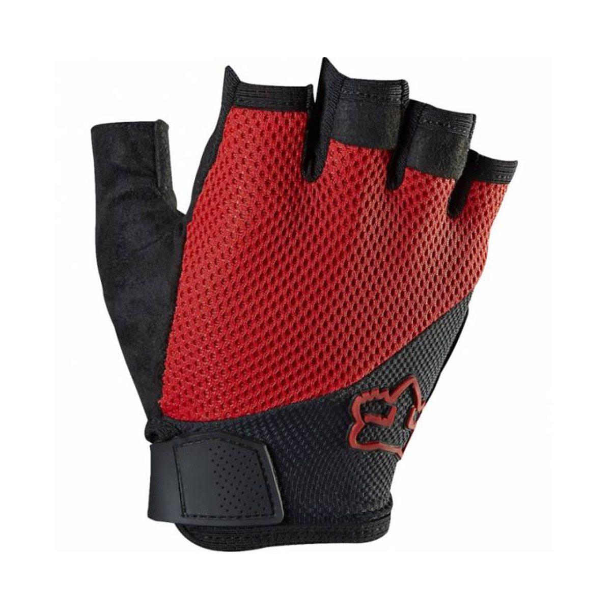 Велоперчатки FOX Reflex Gel Short Red