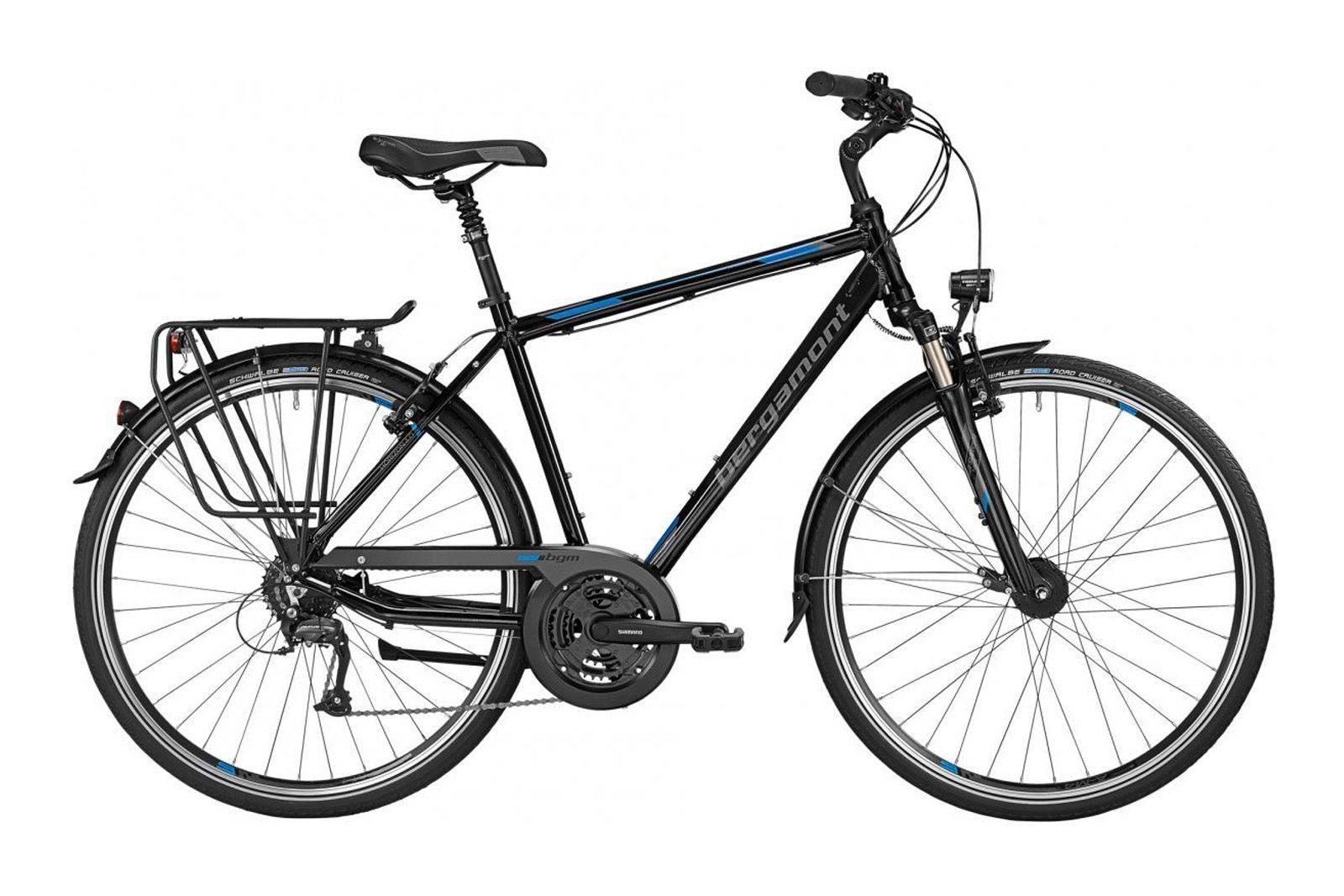 Велосипед BERGAMONT Horizon 4.0 Black/Blue
