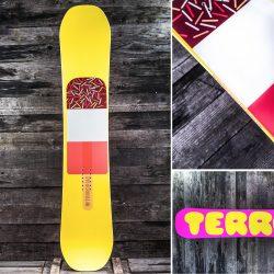 Сноуборд TERROR Babes Yellow 2015