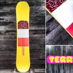 Сноуборды TERROR Babes Yellow 2017