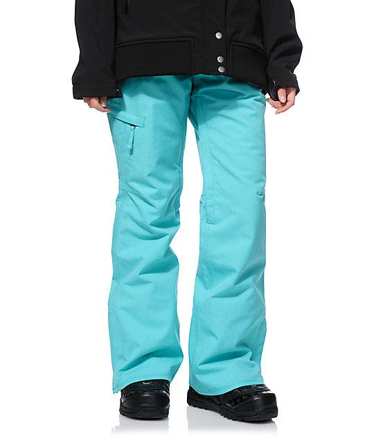 Штаны сноубордические 686 Patron Turquoise 2017