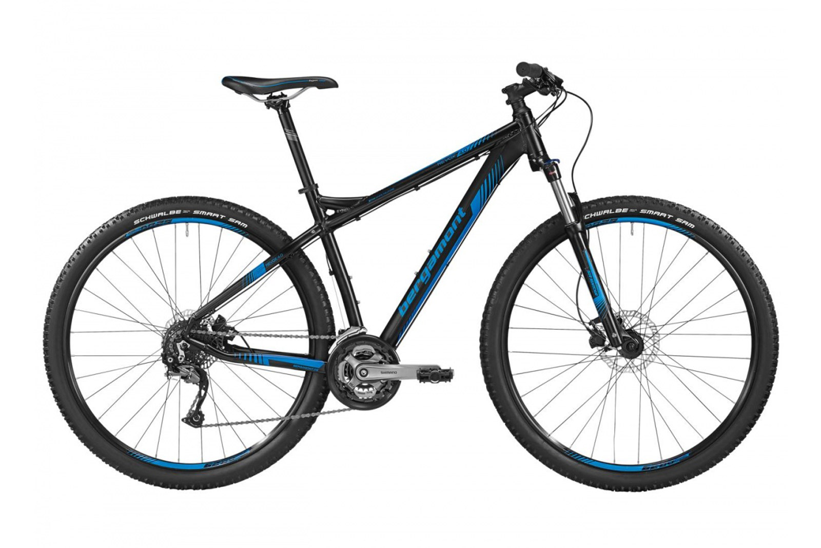Велосипед BERGAMONT Revox 4.0 Black/Blue