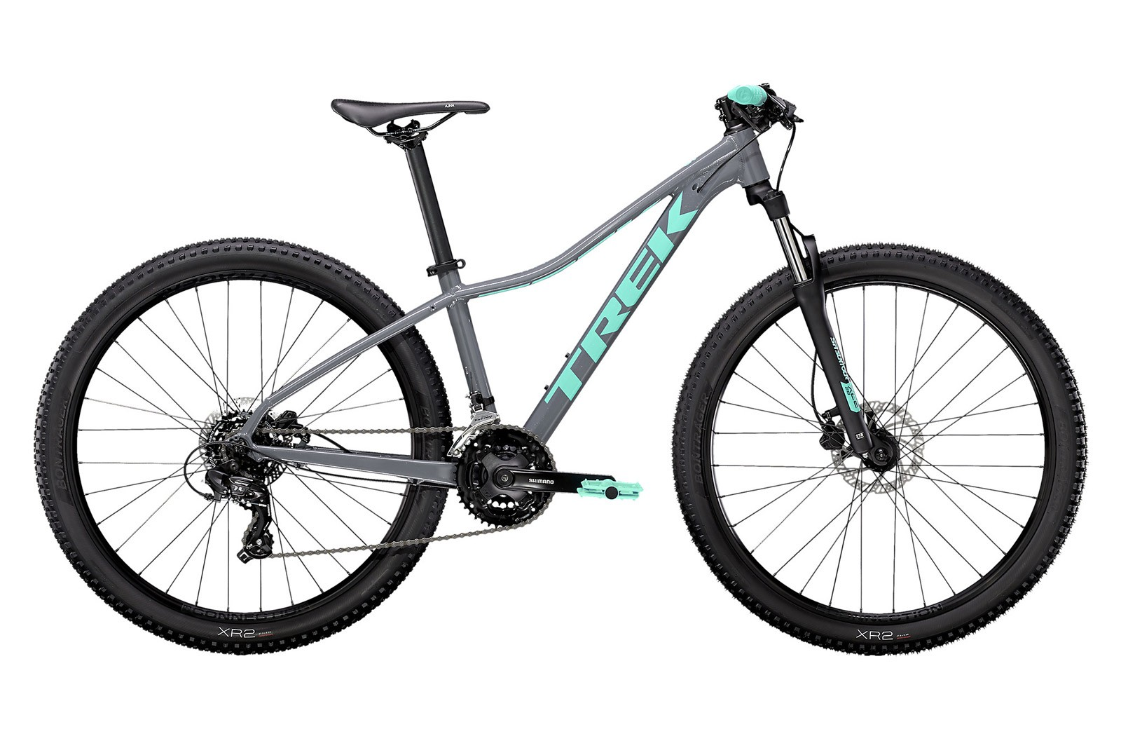 Велосипед Trek Marlin 5 Серый/Мятный