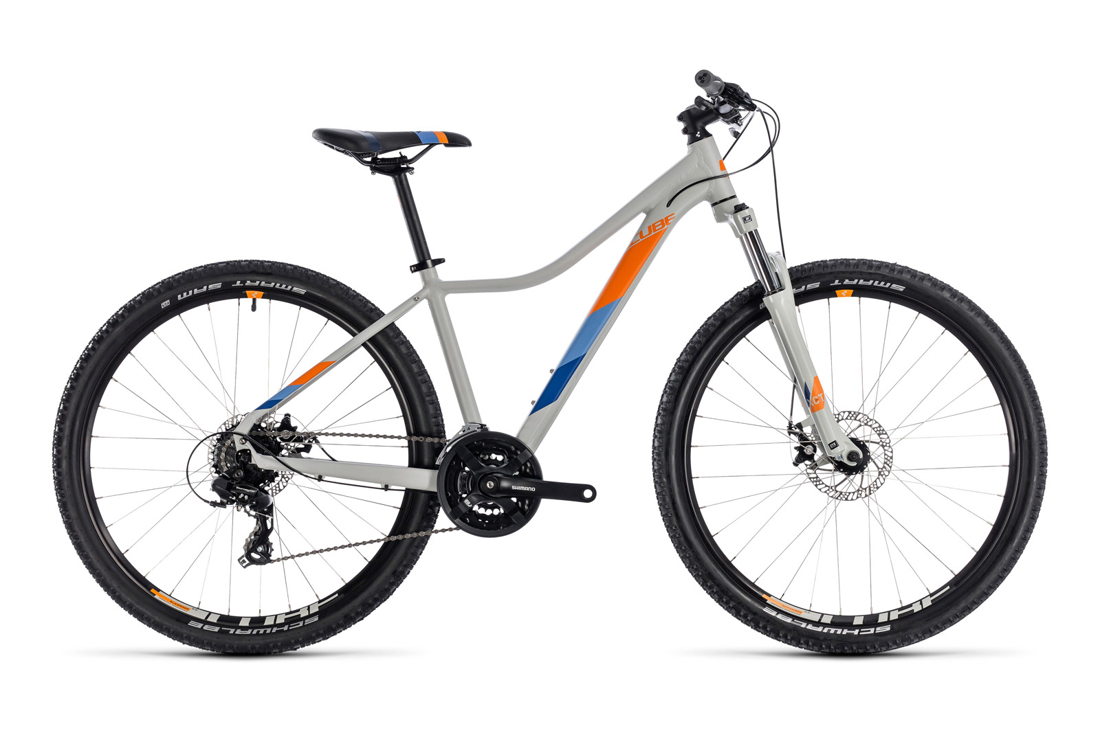 Велосипед CUBE Access WS 27.5 Grey/Orange