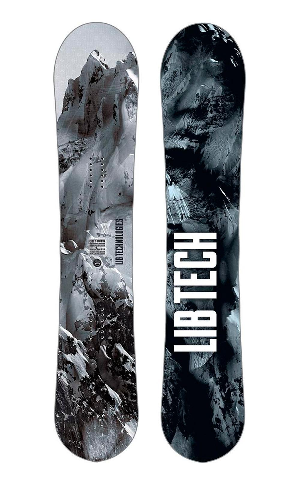 Сноуборды LIB TECH Cold Brew C2 Black/White 2018