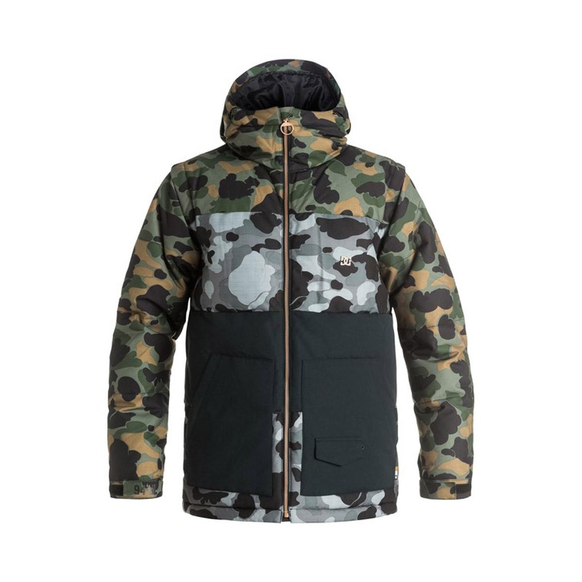 Куртки сноубордические DC Downhill Camouflage Lodge men 2016/2017