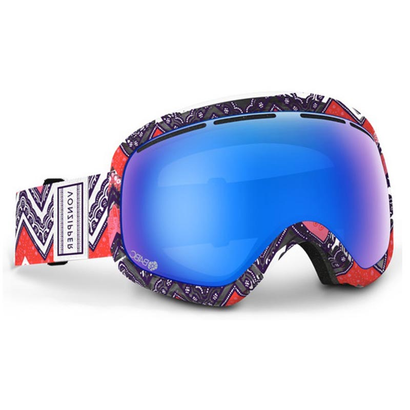 Маски г/л VONZIPPER Skylab Red/Blue 2014