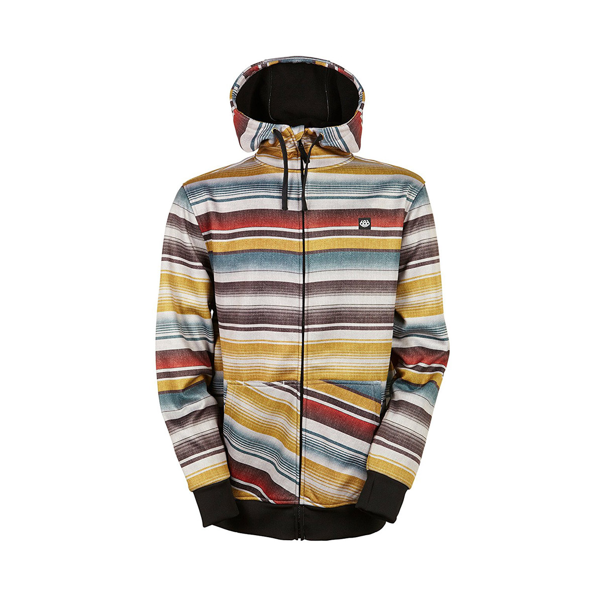 Толстовки 686 Icon Bonded ZIP fleece hoody Blanket 2016/2017