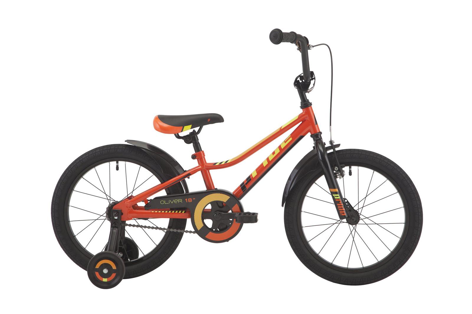 Велосипед PRIDE Oliver Orange/Black