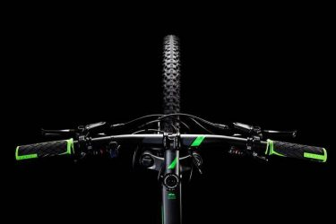 Велосипед CUBE Aim SL 27.5 Black Flashgreen