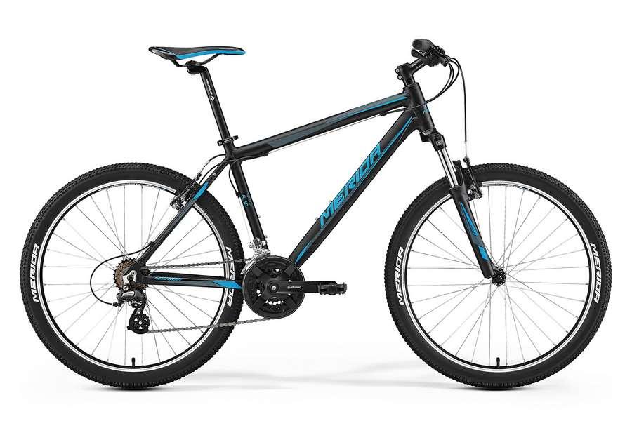 Велосипед MERIDA Matts 6.10V Black/Blue