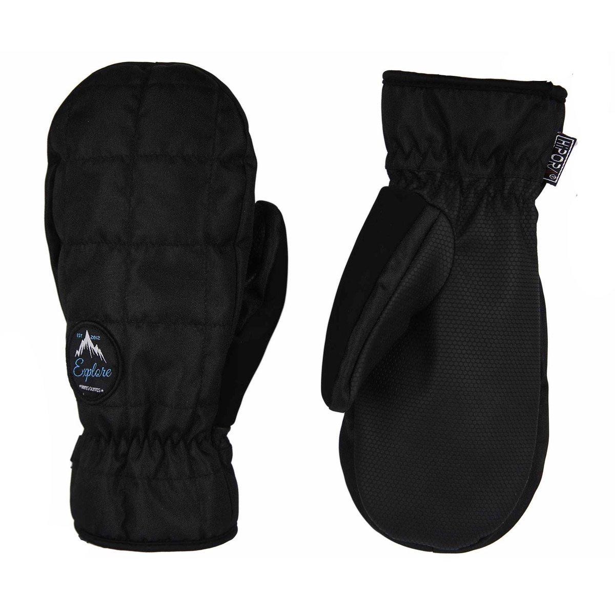 Перчатки и варежки BONUS GLOVES Blank Black 2018