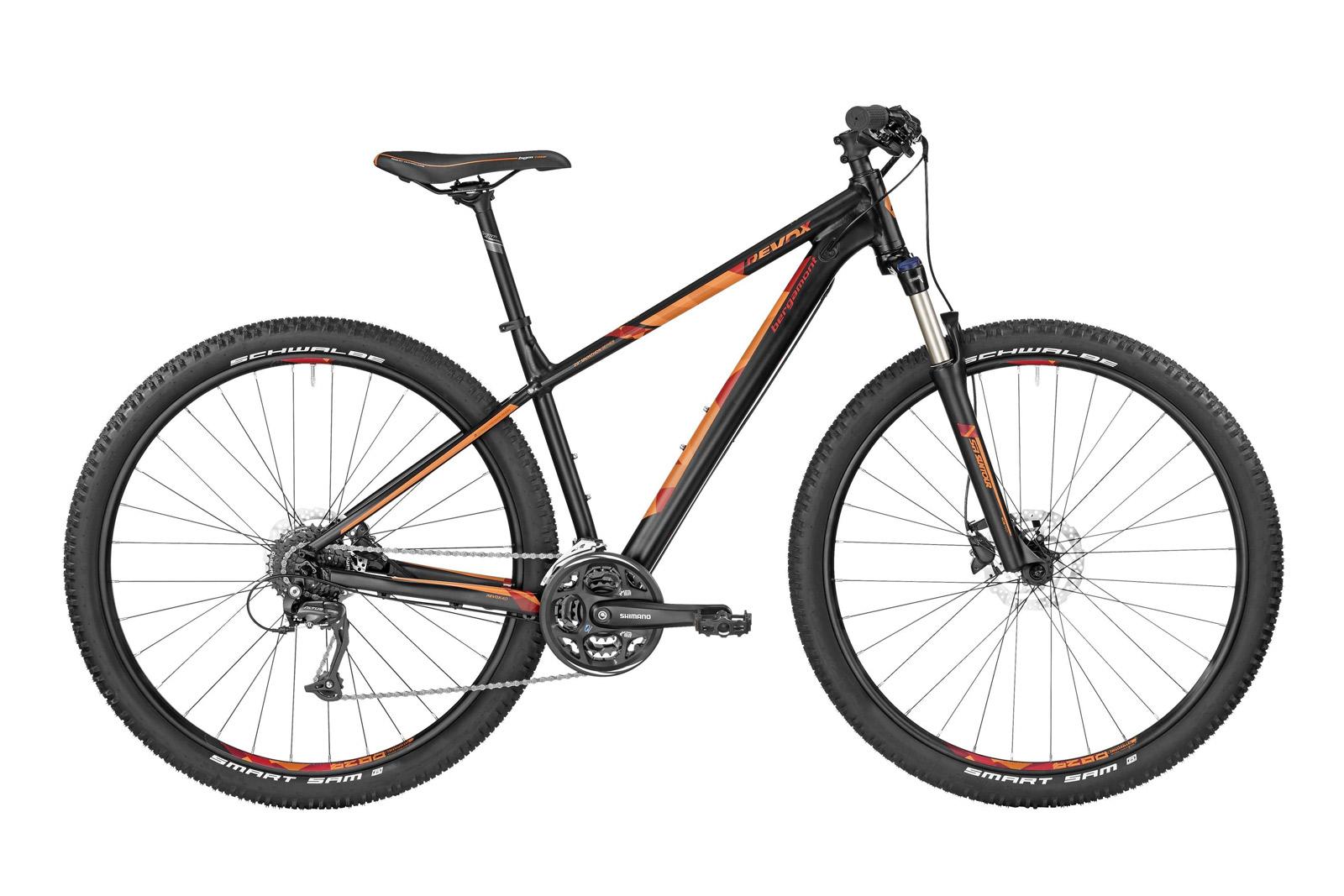 Велосипед BERGAMONT Revox 4.0 Black/Orange