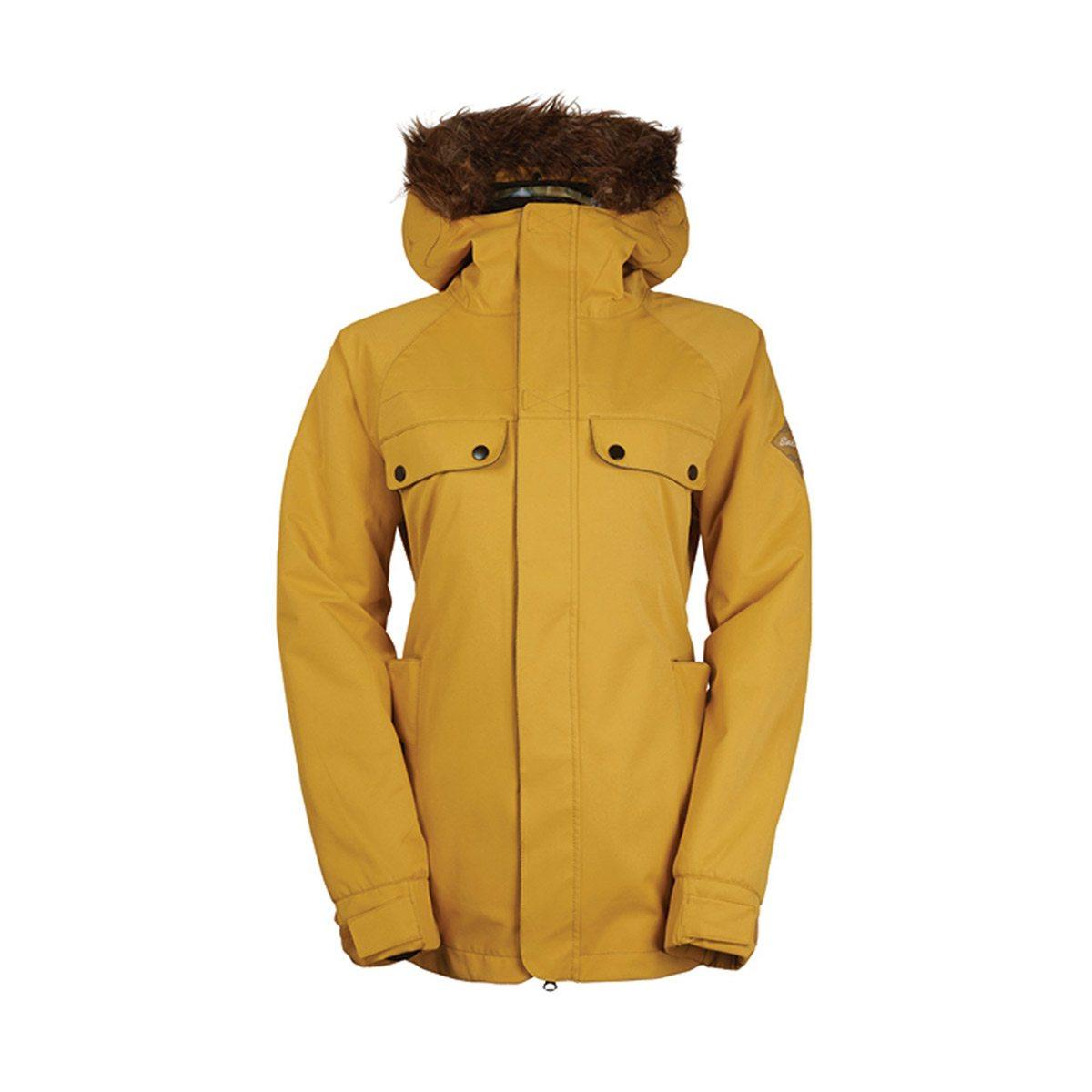 Куртки сноубордические 686 Bae Gold 2017