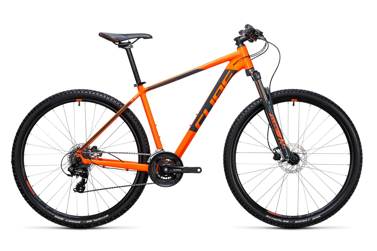 Велосипед CUBE Aim Pro 27.5 Flashorange/Grey