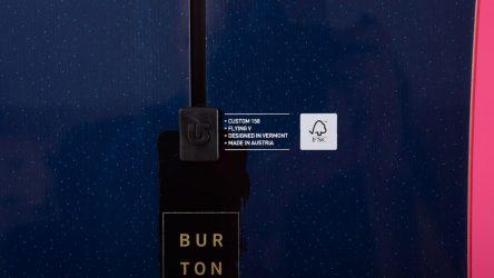 Сноуборды BURTON Custom Flying V Blue 2017