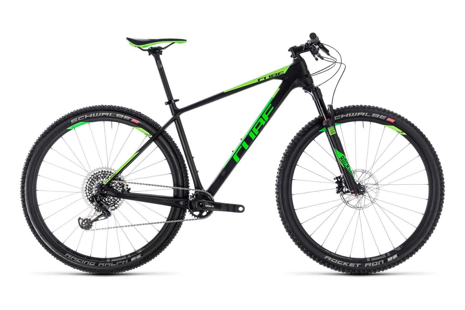 Велосипед CUBE Reaction C:62 Eagle Carbon Green
