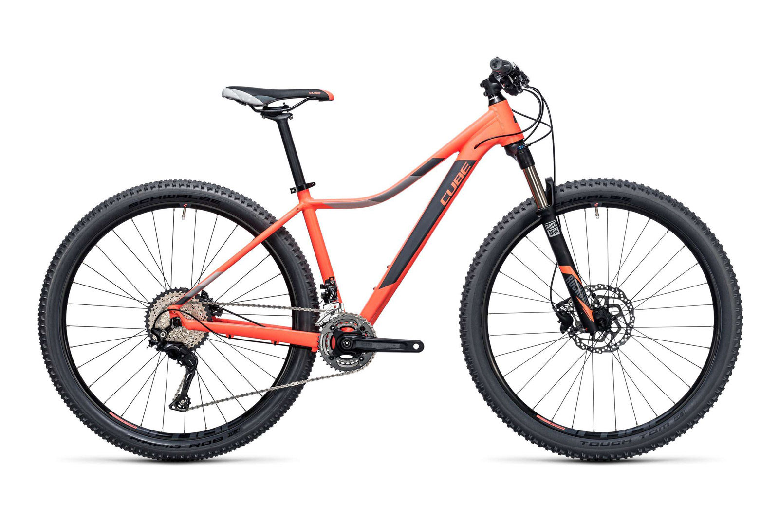 Велосипед CUBE Access WLS SL 27.5 Coral n Grey