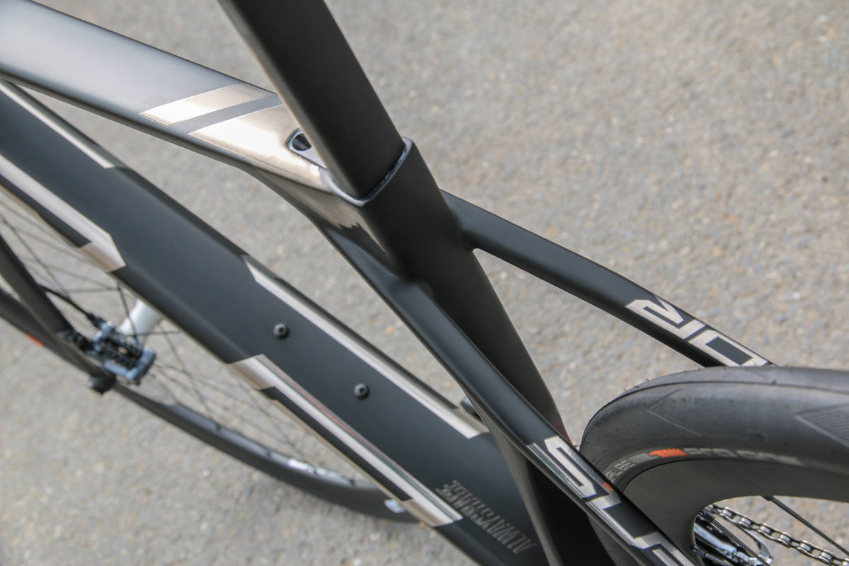 Велосипед Superior X-Road Team Issue Di2 Matte Black/Dark Chrome