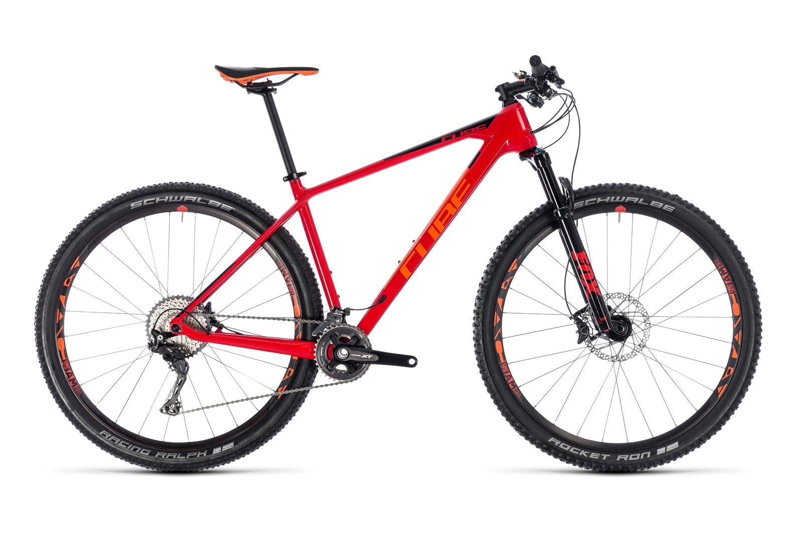 Велосипед CUBE Reaction C:62 Race Red Orange