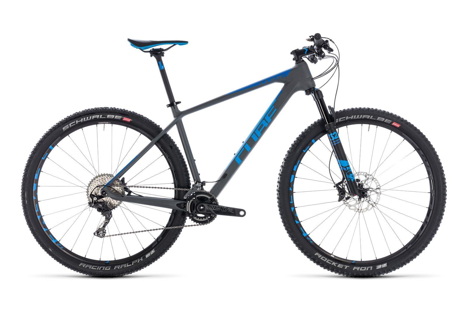 Велосипед CUBE Reaction C:62 SL Grey/Blue
