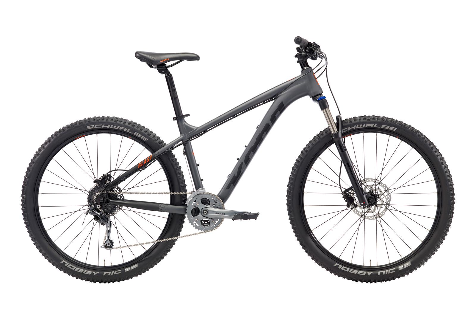 Велосипед KONA Blast Matt Black Olive