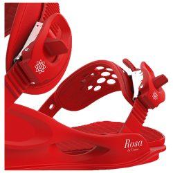 Крепления для сноуборда UNION Rosa Red 2018